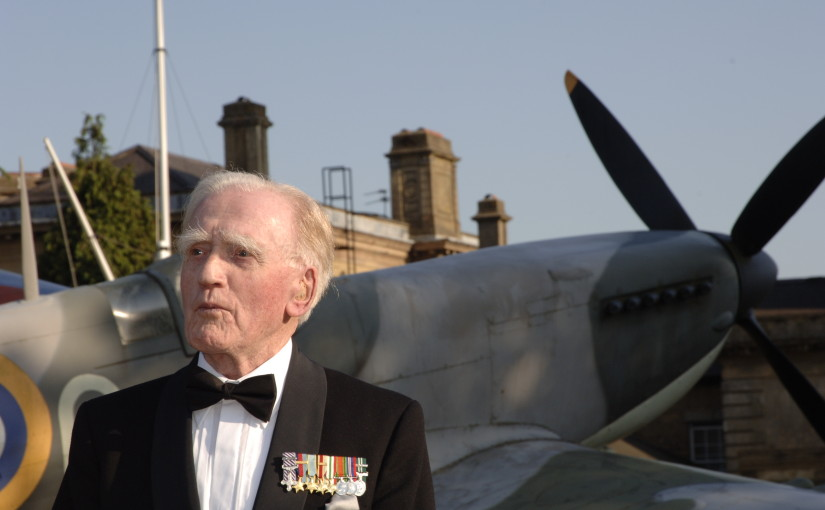 Squadron Leader Cyril Stanley  'Bam' Bamberger DFC* AE* (4 May 1919- 3 February 2008)
